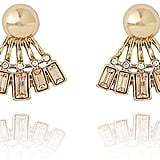 The Limited Art Deco Double Sided Earrings (£20)