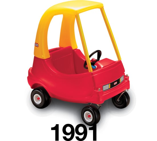 Little tikes cozy coupe popsugar moms for Little tikes motorized vehicles