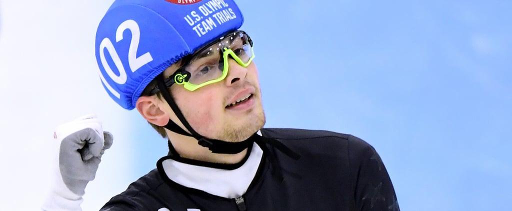Meet John-Henry Krueger — the Mama's Boy Who's Tearing Up Speed Skating