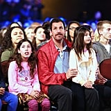 Adam Sandler Had the Cutest Dates at the Kids' Choice Awards — His Daughters, Sadie and Sunny