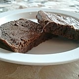 Thin Chewy Cocoa Brownies