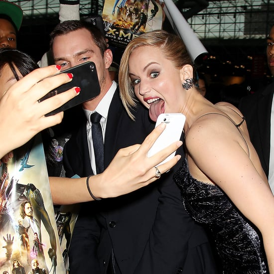 Jennifer Lawrence and Celebrities at X-Men Premiere 2014