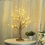 LED Birch Money Tree Gift Holder