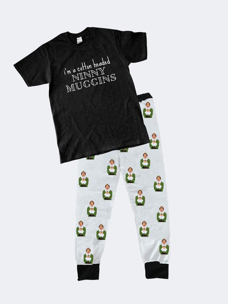 "Elf ""I'm a Cotton-Headed Ninny Muggins"" Matching Family Pajamas"