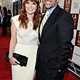 Lorene Scafaria and Steve Carell linked up at the LA premiere of Seeking a Friend For the End of the World.
