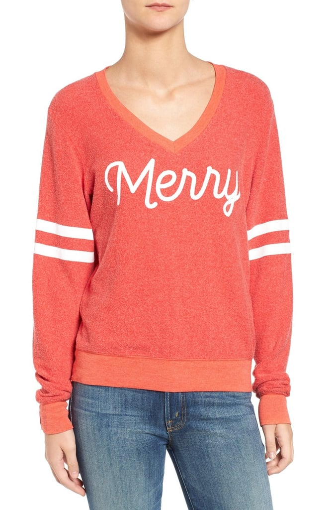 Wildfox Merry Pullover ($98)