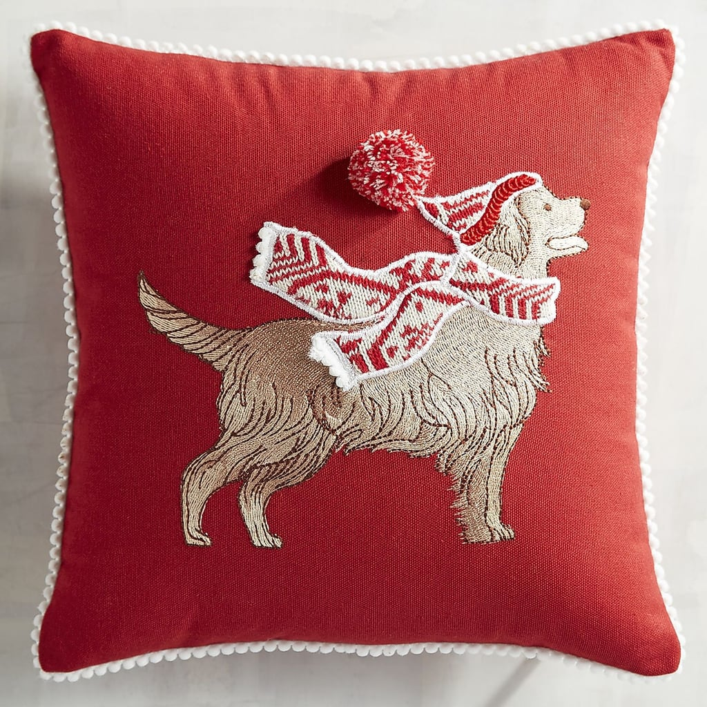 Park Avenue Puppies Golden Retriever Mini Pillow ($20)