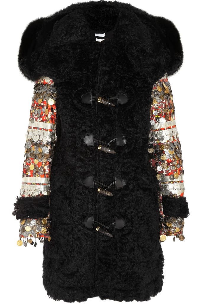 Feeling like a splurge? If there's one amazing coat you absolutely have to have, it's Altuzarra's William Fox-Trimmed Embellished Duffle Coat ($10,820).