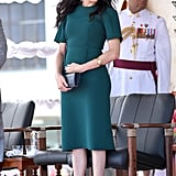 Meghan Markle Work Outfit Idea: A Sheath Dress