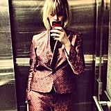 Edith Bowman in Jaeger