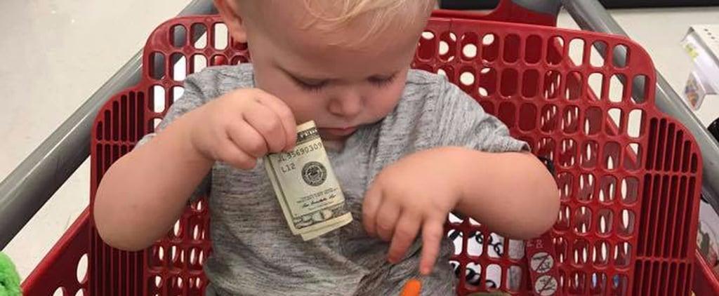 Stranger Gives Toddler $20 at Target