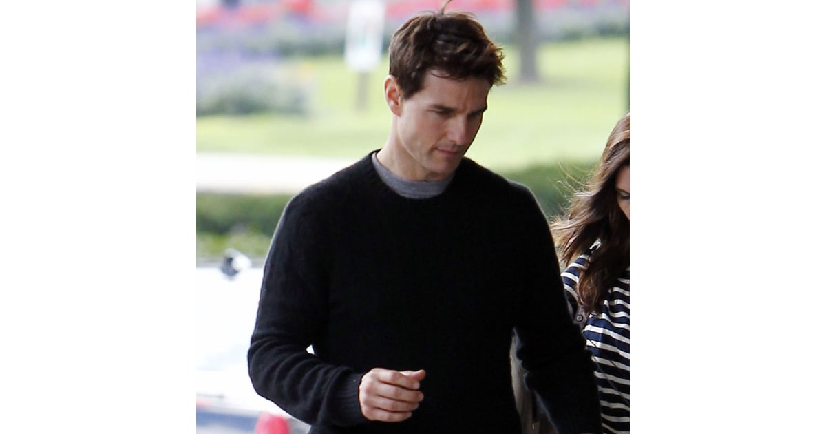 Tom Cruise Short Haircut Pictures Popsugar Celebrity