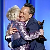 When He Hugged Glenn Close as Tight as We'd Hug Glenn Close