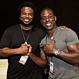 Craig Robinson and Sterling K. Brown