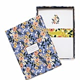 Rifle Paper Co. Violet Floral Social Stationery Set