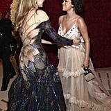 Gigi Hadid and Selena Gomez at the Met Gala 2018