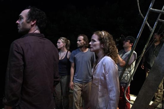 Paul Blackthorne, Eloise Mumford, Joe Anderson, and Leslie Hope in The River.</p> <p>Photos copyright 2012 ABC, Inc.