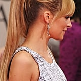 Nicole Richie's up-do at the Golden Globes.