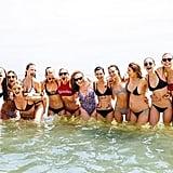 Proving You Can't Go Wrong in a Classic Black Bikini