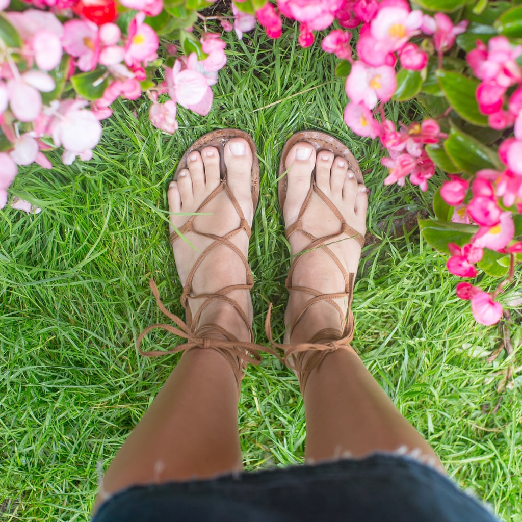 A Lightweight Pair of Sandals