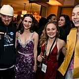 Angus Cloud, Maude Apatow, and Hunter Schafer Had a Euphoria Reunion