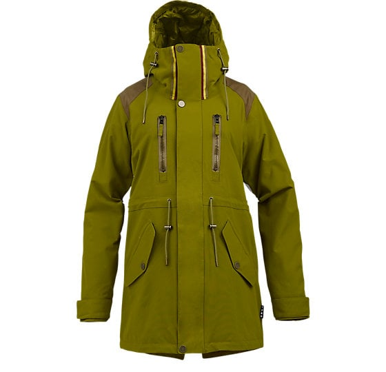 L.A.M.B. parka by Burton ($330) has been worn by Ms. Stefani herself, of course, and would look equally cool over skinny jeans as snow pants.  — MLG