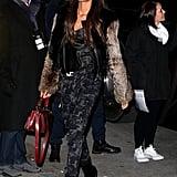 In Paris for the Victoria's Secret Fashion Show on Nov. 29.