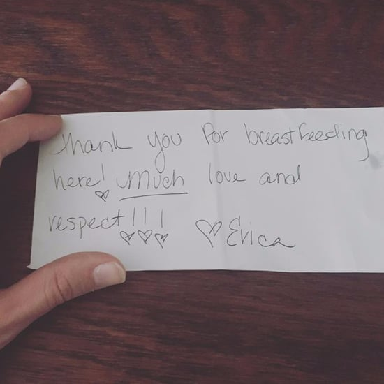 Waitress Thanks Mom For Breastfeeding in Public