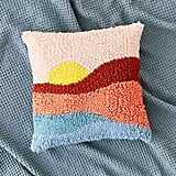 Urban Outfitters Sunset Shag Throw Pillow