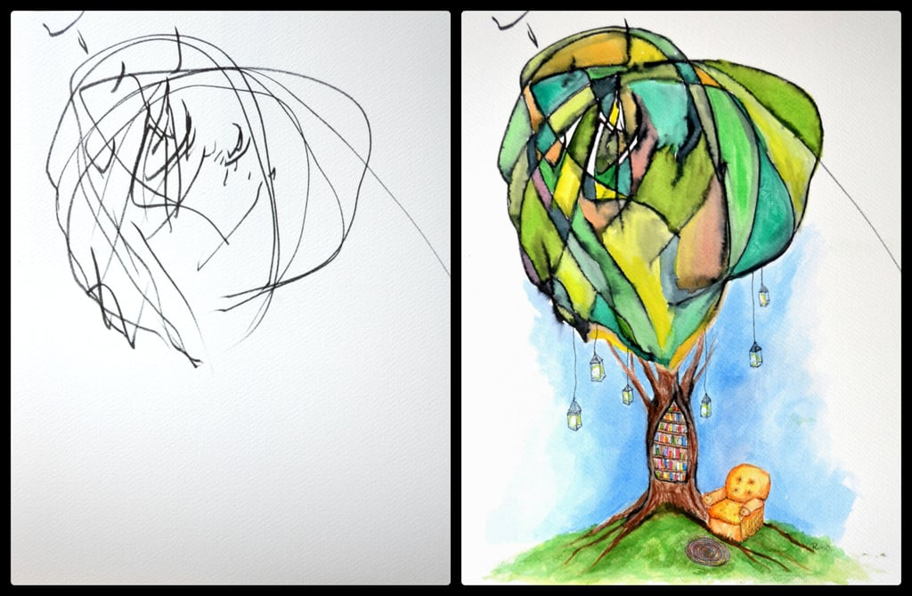 Mother-Toddler Art Collaboration