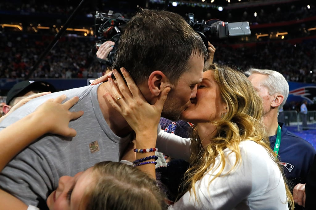 Tom Brady and Gisele Bündchen — who recently celebrated their 10th wedding anniversary — are just as in love as ever! If you need proof, just take a look at the power duo's over-the-top PDA. Between their hot makeout sessions on the beach and their sweet moments on the football field, it's clear they aren't afraid to flaunt their love. Keep reading to see photos of Tom and Gisele in all their envy-inducing glory!      Related:                                                                                                           Gisele Bündchen and Tom Brady's Hands-Down Cutest Family Moments
