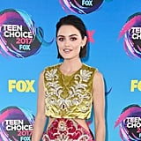 Lucy Hale Makeup at the 2017 Teen Choice Awards