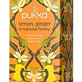 Pukka Herbs Lemon, Ginger, and Manuka Honey Tea