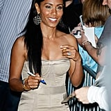 Jada Pinkett Smith at Late Show With David Letterman in 2009