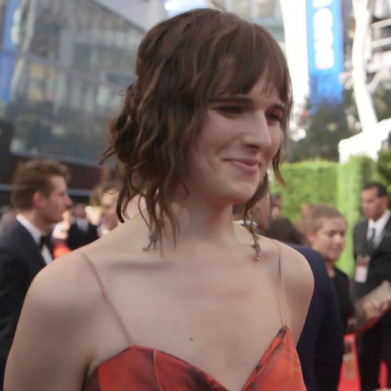 Transparent Star Hari Nef Interview at 2016 Emmys (Video)