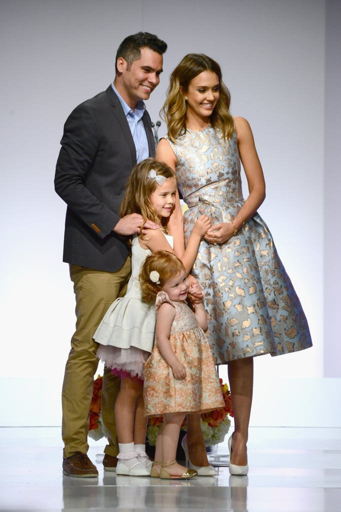 They posed for an adorable family photo at the Helping Hand of Los Angeles Mother's Day Luncheon in 2014.