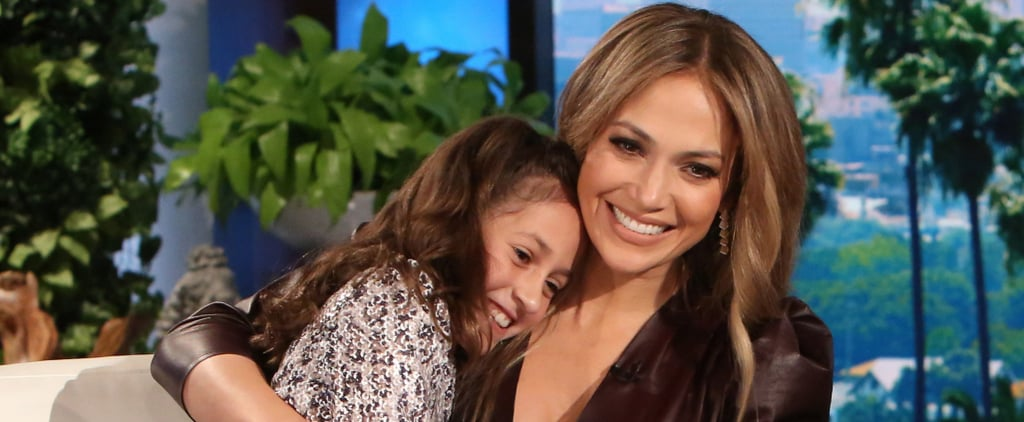 Jennifer Lopez Shares a Ridiculously Cute Moment With Her Twins on Ellen