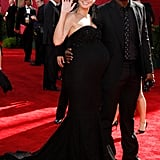 Pregnant Heidi arrived at the 61st Primetime Emmy Awards with Seal in September 2009.