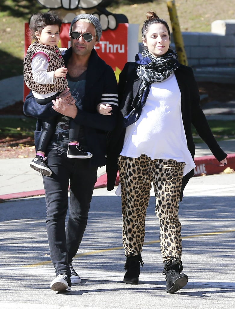 Gwen Stefani's bandmate (and ex-boyfriend) Tony Kanal met up with the Stefani-Rossdale family at the pumpkin patch.