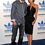 Photos of The Beckhams and Ellen Pompeo