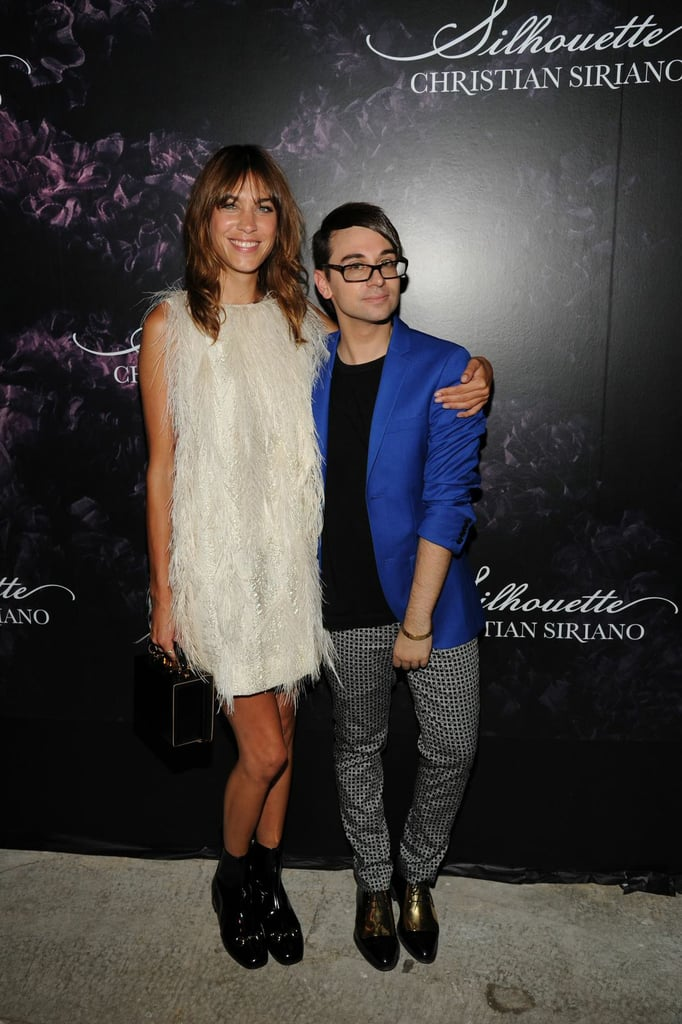 Alexa Chung and Christian Siriano