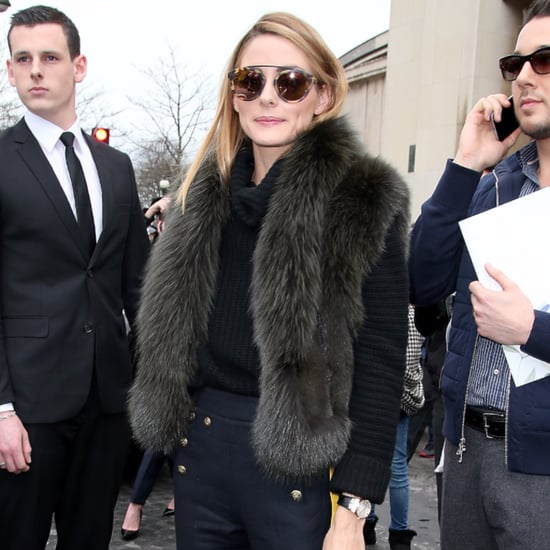 Olivia Palermo at Paris Haute Couture Fashion Week Spring 16