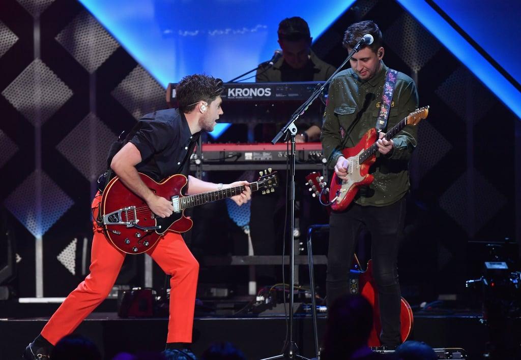 Niall Horan at iHeartRadio's Jingle Ball in NYC