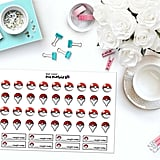Pokémon Go Inspired Paper Planner Stickers