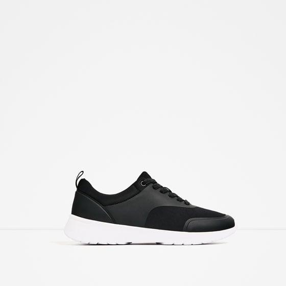 Zara Contrast Sole Sneakers