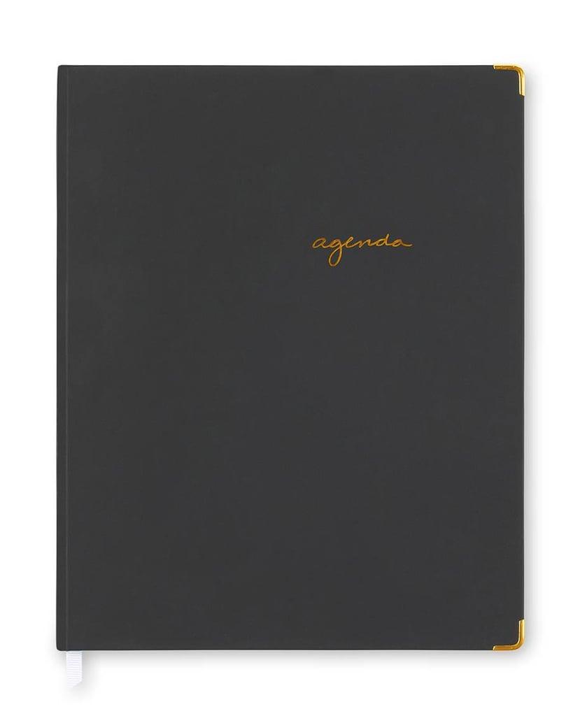 Sugar Paper  Black Weekly Planner 2017 Bookbound Agenda ($20)