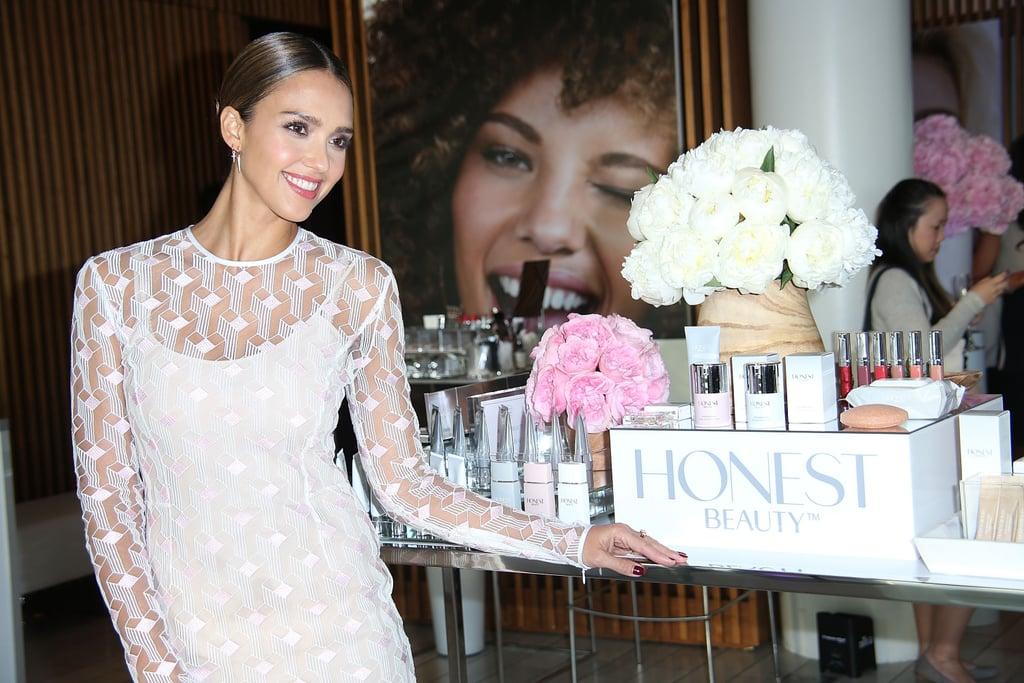 Jessica Alba Honest Beauty Interview