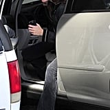 Photos of Jennifer and Violet Leaving School in LA