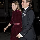 Princess Beatrice and Edoardo Mapelli Mozzi at Portrait Gala