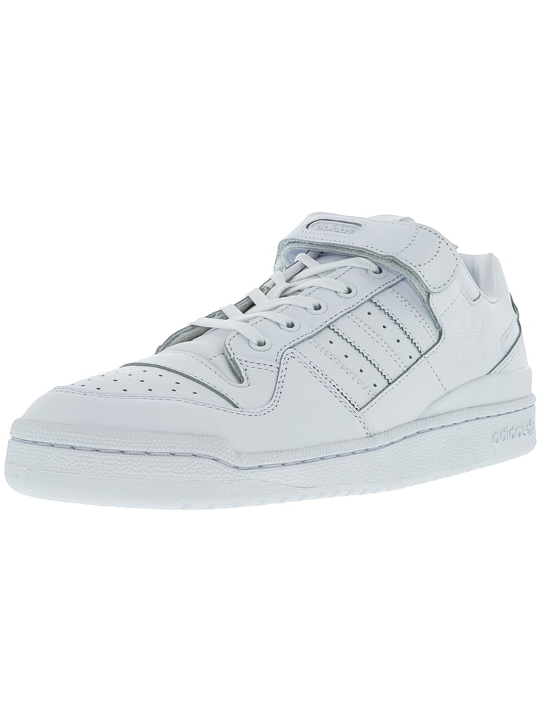 huge selection of 5e703 4ffd4 ... coupon code adidas mens forum lo refined white black ankle high fashion  sneaker 03389 a2e5b